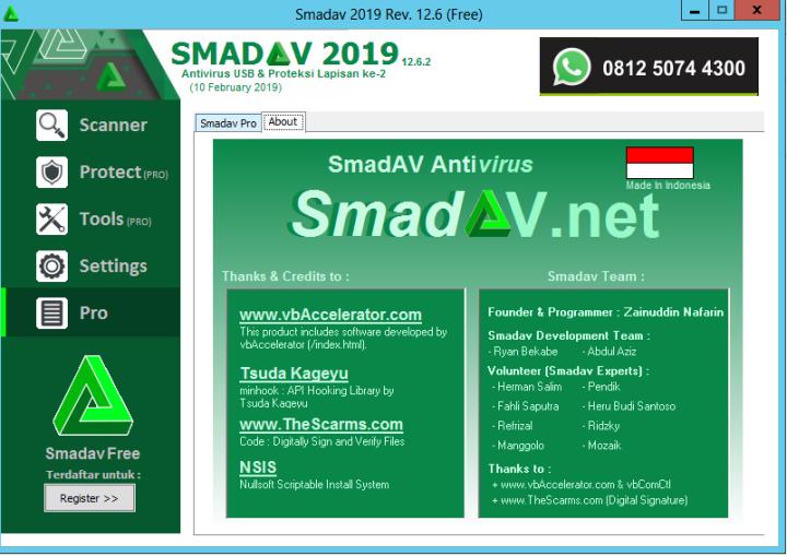 Dashboard SMADAV