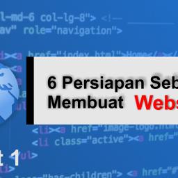 5+ Persiapan Sebelum Membuat Website